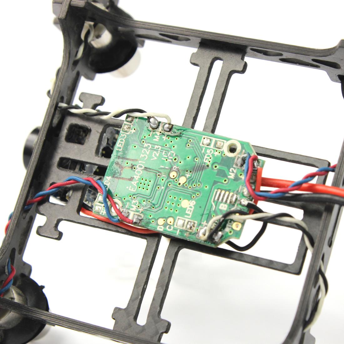Mini Tiny QX80 80mm Carbon FPV Brushed Indoor RC Quadcopter DIY RTF Assemble Kit H107 Flight Control 5.8G 25mW Camera F19032-B/C
