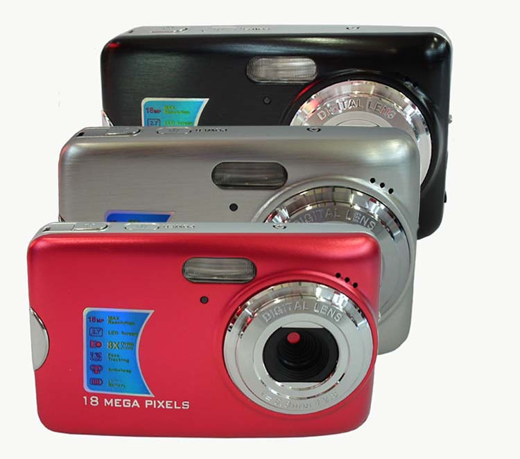 Цифровая фотокамера 18,0 MP 2,7/tft LCD 8 X /shake  DC-560 цифровая фотокамера rekam ilook s750i 12 mpx 1 8 lcd серый