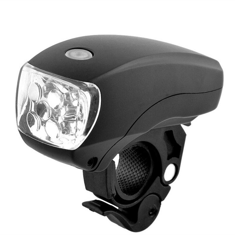Bike Bicycle 5LED Front Light Torch Headlight Safety Light Lamp 3-Modes Waterproof Flashlight Bicycle Light bisiklet aksesuar(China (Mainland))
