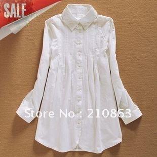 white dress shirt for women long sleeve shirts fashion