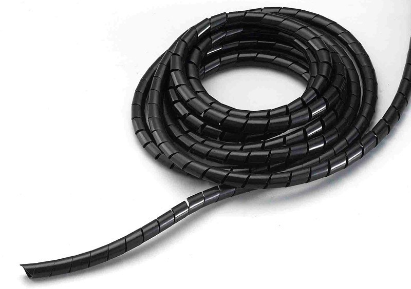 Free shipping! Black Cable Management Wraps for Gimbal Motor Cable Diameter: 6mm - 1 meter Long(China (Mainland))