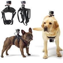 Go Pro Accessories Hound Adjustable Dog Fetch Harness Chest Strap Belt Mount For GoPro Hero 4/3+/3/2/SJ4000 Action Sport Camera