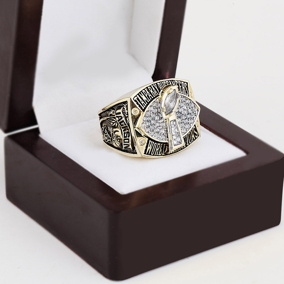 2002 Tampa Bay Buccaneers Super Bowl Football Championship Ring With High Quality Wooden Box Fans Best Gift Size 10-13(China (Mainland))