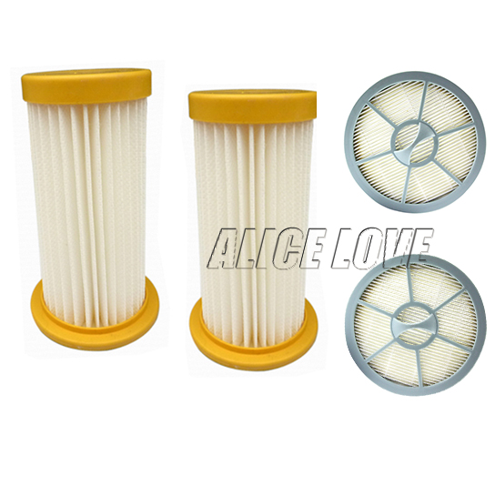4pcs/sets Free Shipping 2 Vacuum Cleaner filter+2 air Outlet HEPA Filter for Philips FC8208 FC8250 FC8260 FC8262 FC8264(China (Mainland))