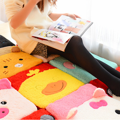 Plush cushion Sofa / car mats butt pad Couple Cushion Cute Cartoon animals Office chair cushion(China (Mainland))