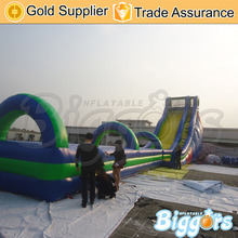 Free Shipping Giant Inflatable Slip And Slide Fun Inflatable Slip n Slide The City Water Park For Kids And Adult(China (Mainland))