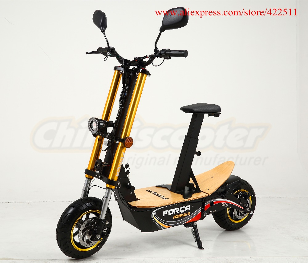 2016 New 2000W 48V Adult Foldable Electric Scooter Two-wheel Men's Electric Scooter(China (Mainland))