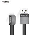 For iPhone Cable IOS 10 Remax 2 1A Fast Charging 1m Flat Usb Charger Cable Wire