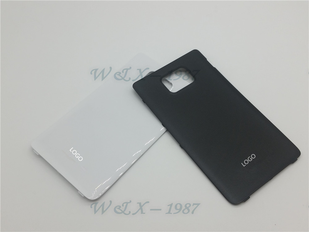 Original OEM White/Black Housing Back Cover Battery Back housing Cover Case for Samsung Galaxy S2 i9100(China (Mainland))