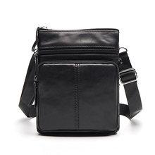 WESTAL saco masculino saco de Couro Genuíno Homens Sacos Pequenos sacos Crossbody Bolsas de Ombro ocasional saco do Mensageiro saco De Homens De Couro Flap M701(China)