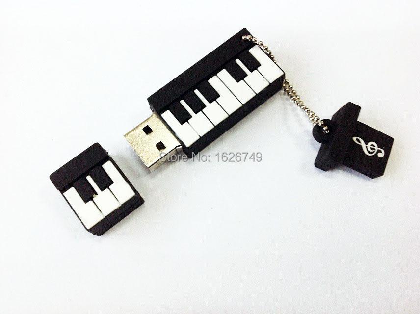 2015 New! piano USB Flash Drive fshion music pendrive musicial pendrives 8GB/16GB/32GB music instrument usb disk free shipping(China (Mainland))