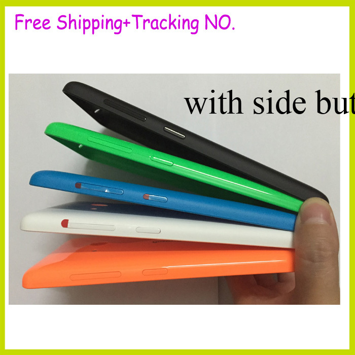 New Original for Microsoft Nokia Lumia 535 back housing battery door cover case+side buttons Free Shipping(China (Mainland))