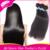 Peruvian Virgin Hair Straight Ali Queen Hair Products 3pcs/Lot Unprocessed 6A Virgin Peruvian Straight Virgin Human Hair Weave