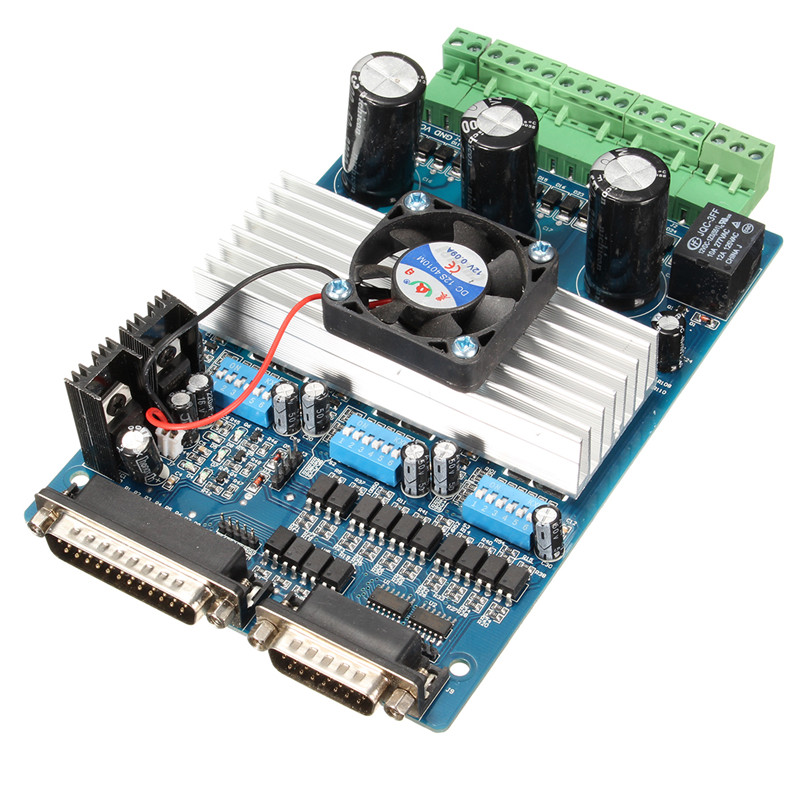 Brand New CNC 3 Axis TB6560 Stepper Motor Driver Controller Board For Mach3 KCAM4 EMC2 36V Wholesale Price(China (Mainland))