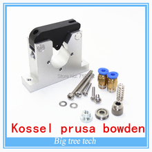 3D Printers Reprap Kossel prusa bowden full metal aluminum remote extruder/Universal 1.75and 3mm/ remote extruder