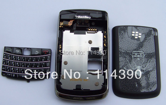 For Blackberry Bold 9700 original black New housing cover keyboard free shipping(China (Mainland))