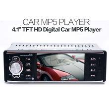 "4.1"" TFT HD Digital 4019R Car MP5 Stereo FM Radios 50W x 4 MP3 MP4 Audio Video Players USB SD In-Dash(China (Mainland))"