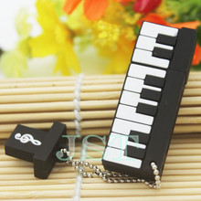 Hot! mini piano usb flash drive 4GB 8GB 16GB electronic keyboard usb stick cartoon memory Stick music flash drive cartoon gift(China (Mainland))