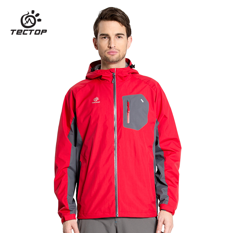 Dropshipping Windstopper single layer Jackets men brand waterproof jacket for Camping Hiking Outdoor Sport Jackets(China (Mainland))