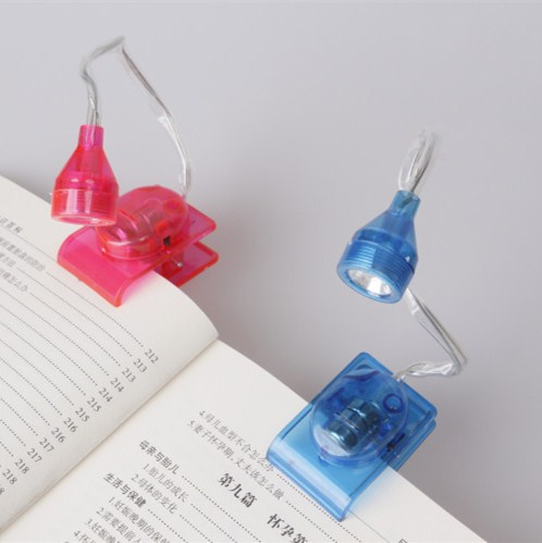 Mini LED Bulbs Clip on Adjustable Head Book battery portable Reading lamp light Bright Bedside for student library small night(China (Mainland))