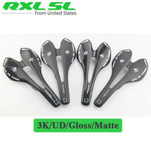 Buy RXL SL Carbon Saddle Carbon Saddle XXX Saddles Road Bike MTB Mountain Bicycles 143mm UD/3K Matte/Glossy Cycling Bicycle Parts for $16.83 in AliExpress store