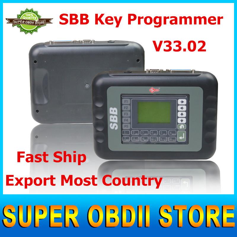 2015 Latest V33.02 SBB New Immobilizer Transponder Auto Car Silca Sbb Key Programmer Multi-languages Useful Key Pro Tool(China (Mainland))