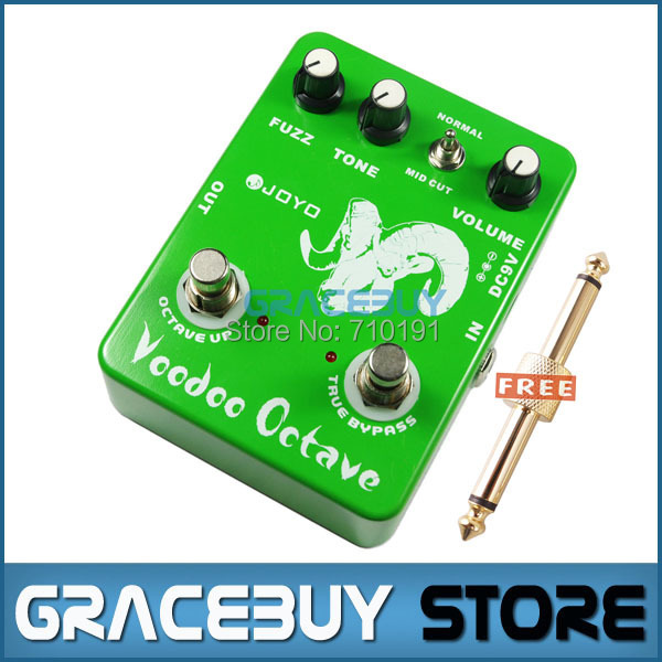 JOYO JF-12 Electric Guitar Bass Dynamic Compression Fuzz Ultimate Voodoo Octave Distortion Effect Pedal