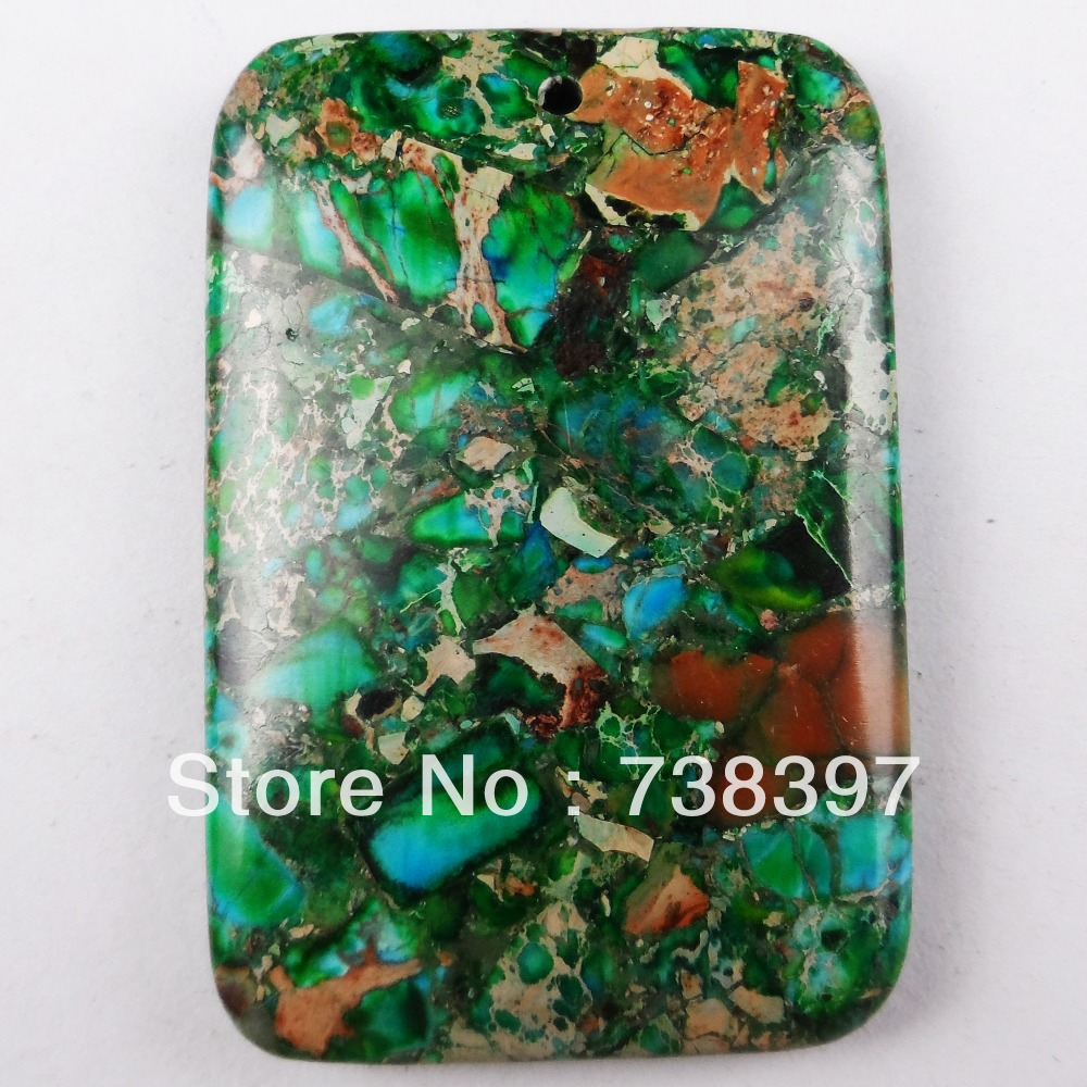 K0764 Free Shopping Beautiful Trendy Fashion Sea Sediment Jasper pendant bead 1pcs/lot(China (Mainland))