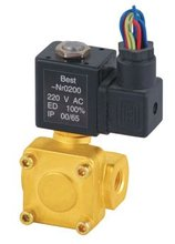 Free Shipping 1/2'' Port Size 0927200 Normally Closed 2/2 Way Diaphragms Solenoid Valves 5pcs In Lot(China (Mainland))