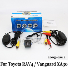 For Toyota RAV4 / Vanguard XA30 2005~2012 (NO Spare Wheel On Door ) / RCA Wire Or Wireless HD CCD Night Vision Rear View Camera(China (Mainland))