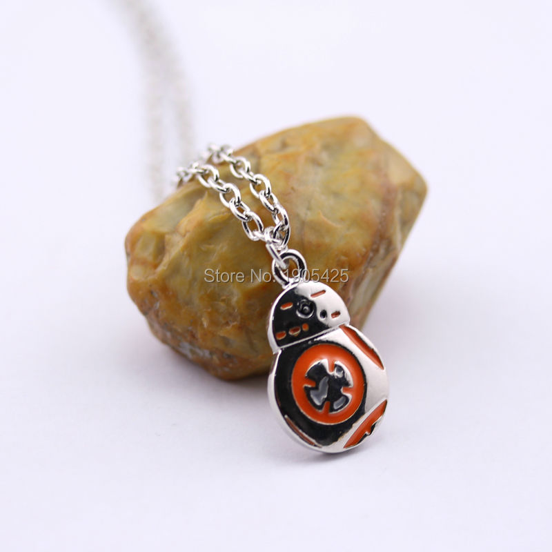 Здесь можно купить  Movie Series New Arrival Fashion Accessory Star Wars BB8 Robot Plane Model Mini Pendant Exquisite Necklace Movie Series New Arrival Fashion Accessory Star Wars BB8 Robot Plane Model Mini Pendant Exquisite Necklace Ювелирные изделия и часы