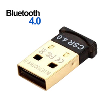 2015 Brand New Mini USB 2.0 Bluetooth 4.0 CSR4.0 Adapter Dongle for PC Laptop Win XP Vista 7 8  63BU(China (Mainland))