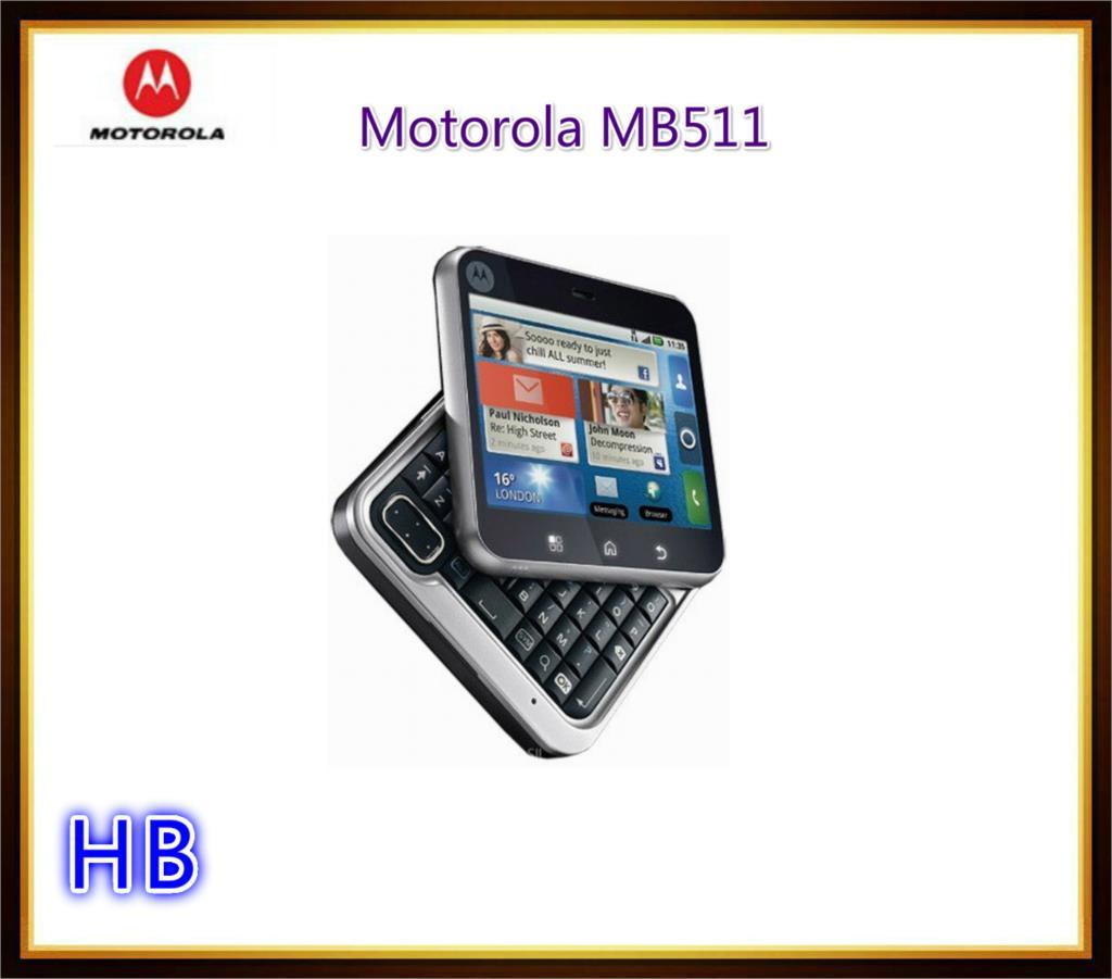 Unlocked Motorola MB511 Mobile Phone 2.8 inches GPS 3.15 MP Camera 3G Cell Phone Free Shipping(China (Mainland))