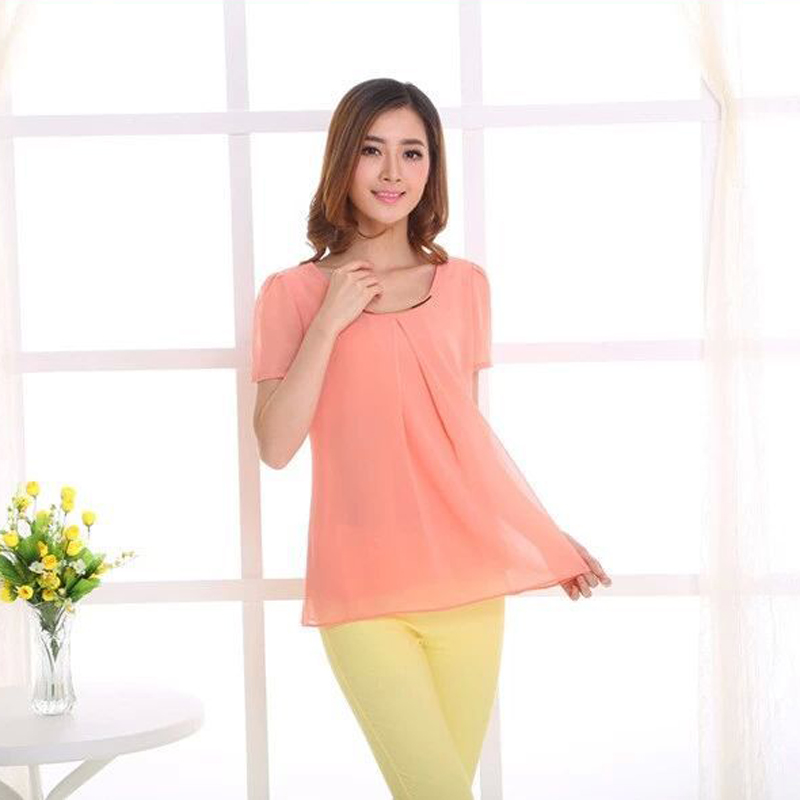 Plus Size 5XL Women Blouses Original Manufacturer Blusa New Summer Style Female Casual Dress Woman Shirts brand clothing Blusas(China (Mainland))