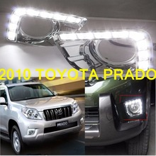 2010~2013 Land Cruiser Prado daytime light,FJ150,2700 4000,Free ship!LED,cruiser fog light,2pcs,Prado light,FJ150 - NoBonn Autoparts Co;Ltd store