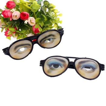 2013 Halloween Christmas Gift Party Joke Plastic glasses Women and Men Eye Wacky funny glasses girls and boys