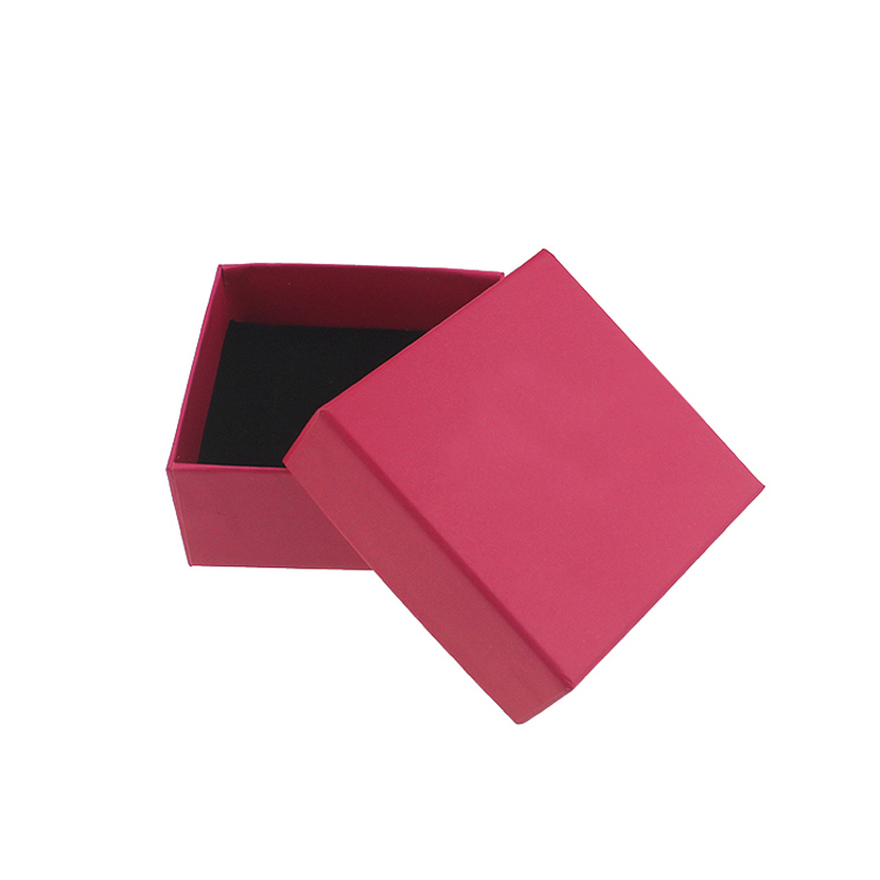 New arrival top quality packaging for jewellery rose color necklace gift box 7.3*7.3*3.5cm(China (Mainland))