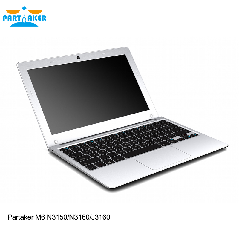 Partaker M6 Newest Style Laptop Computer With 11.6 Inch N3150 N3160 J3160 4G RAM 64G SSD(China (Mainland))