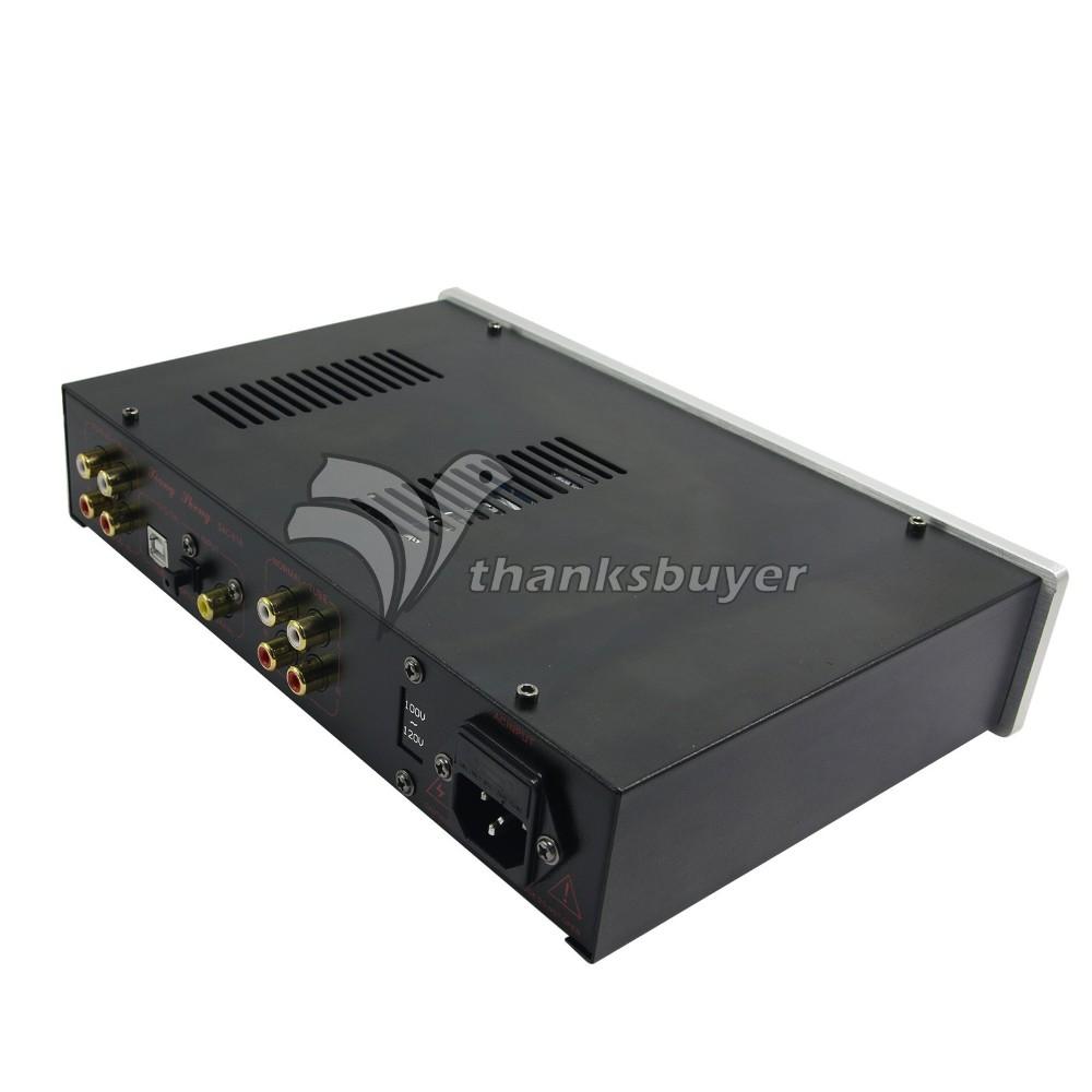 24Bit 192Khz USB Headphone PreAmplifier XiangSheng Coaxial Optical Decoder EU Stock