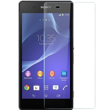 Free shipping  0.3MM Front Toughened Film Screen Protector Glass For Sony Xperia Z2 L50W L50u D6503 D6502 Tempered Glass