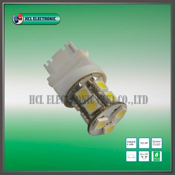Free shipping 16pcs lot 3156 LED signal light T20 Car LED bulb 13pcs Ultra Bright 5050SMD