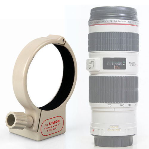 New Metal Tripod Collar Mount Ring A(W) for Canon EF 70-200mm f/4L IS USM Lens(China (Mainland))