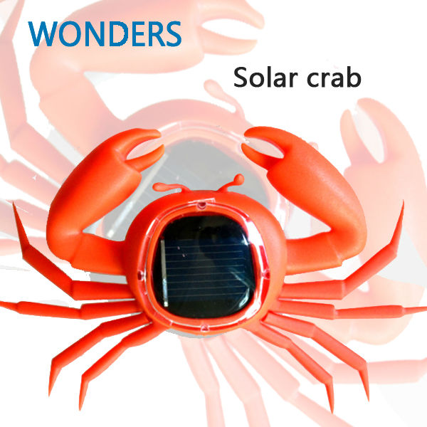 ids Solar Toys Power Energy Solar crab Children Teaching Fun Gadget Toy Gift For Kids Solar Energy Toys(China (Mainland))