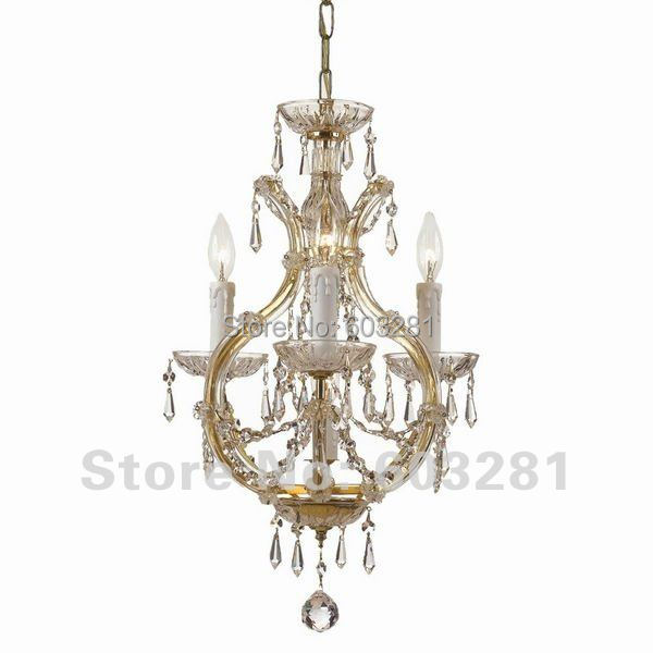 Autumn Lighting 4009 3-Light Maria Theresa Chandelier, Gold Polished Chrome + - AUTUMN LIGHTING FACTORY store