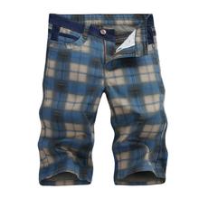 elastic male loose denim shorts knee-length casual jeans  large size big size plus size men's clothing ,3XL,4XL,5XL(China (Mainland))