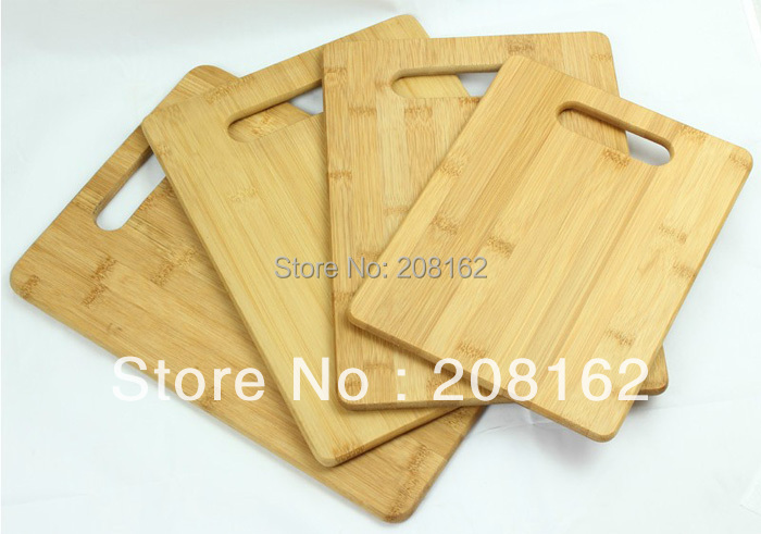 Bamboo Chopping Blocks Fruit Plate Potholder Reversible Cutting Boards Kitchen Gadgets(China (Mainland))