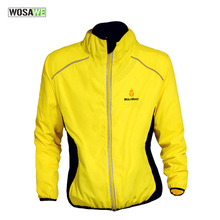 Buy WOLFBIKE Cycling Sports Breathable Reflective Jersey Cycle Clothing Long Sleeve Wind Coat Jacket Bicycle Bike Windbreak Jersey for $16.66 in AliExpress store