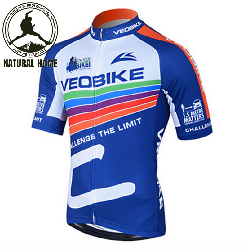 [NaturalHome] Brand Style Triathlon Cycling Ciclismo Clothes Road Bike Breathable Wicking Jersey Quality Short-Sleeved Shirt(China (Mainland))