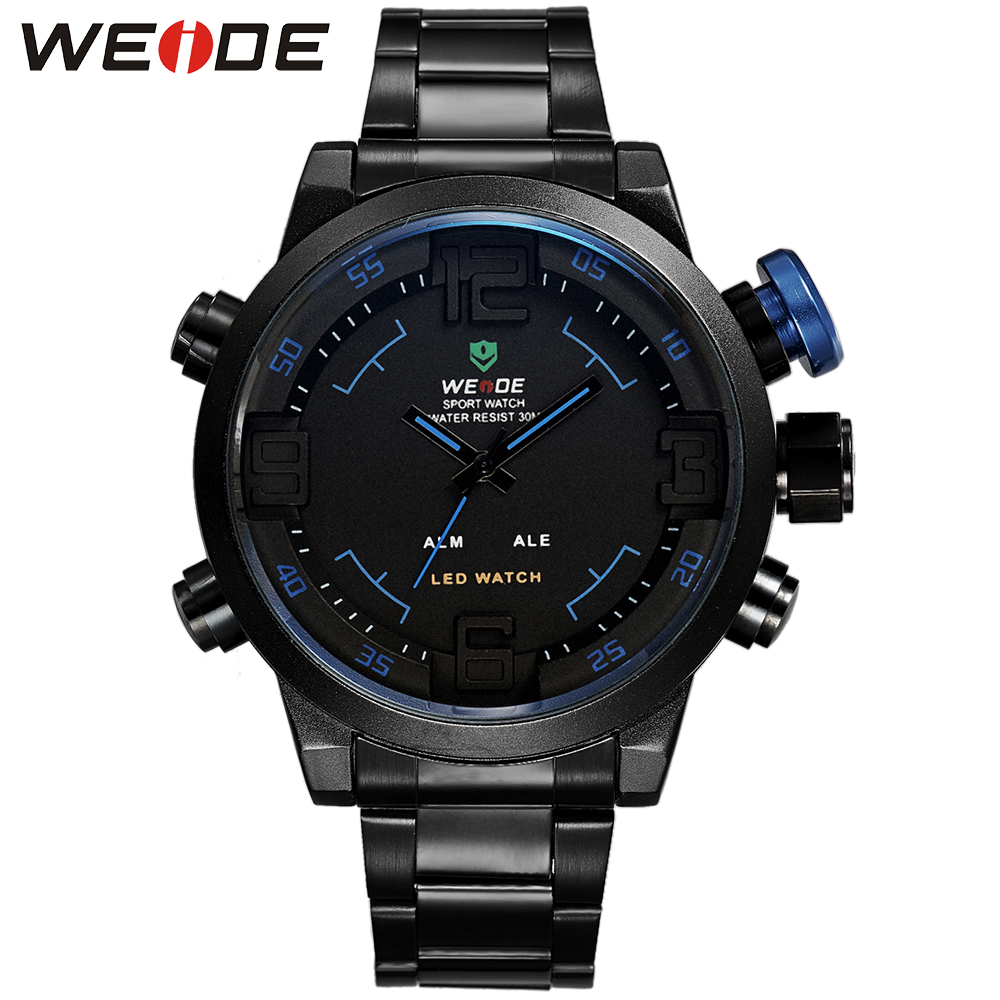 WEIDE Famous Casual Brand Luxury Watch Men High Quality Quartz Watches Digital New Hot Stainless Steel Relogio Masculino WH2309<br><br>Aliexpress