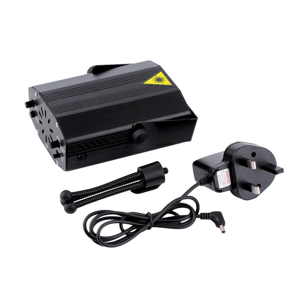 Mini LED R&G Laser Projector Stage Lighting Adjustment DJ Disco Party Club Popular